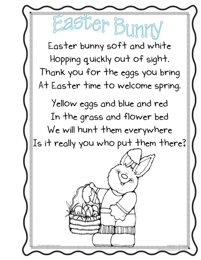 Meaningful Christian Easter Poems For Toddlers