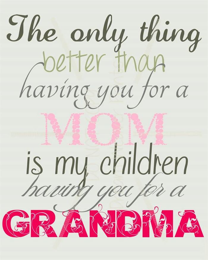 Best Cute Happy Mother's Day Card Sayings For Grandma