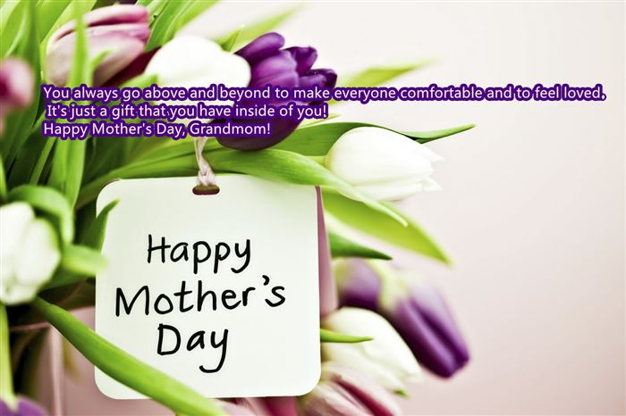 Meaningful Happy Mother's Day Card Messages For Grandmother