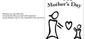 Best Happy Mother's Day Card Messages For Grandmother