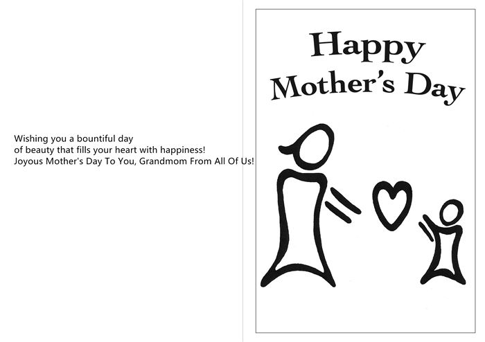Famous Happy Mother's Day Card Messages For Grandmother