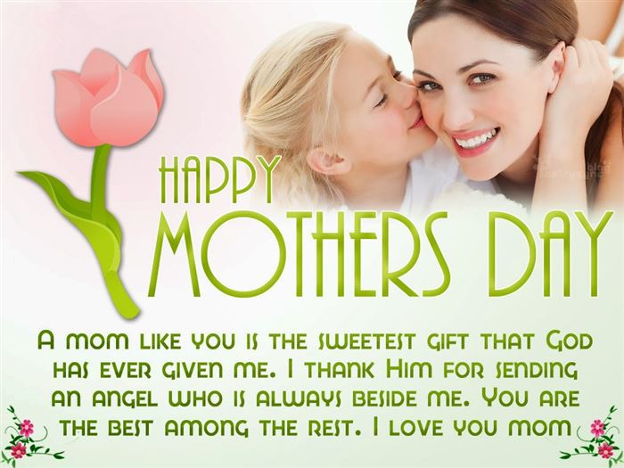 Beautiful Happy Mother's Day Card Messages From Daughter