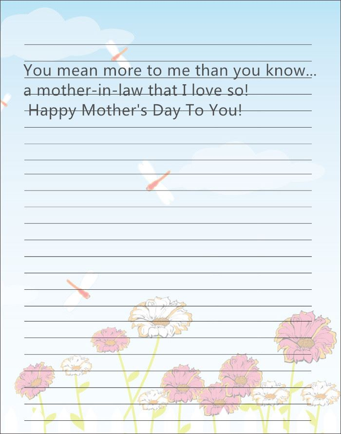 Unique Happy Mother's Day Card Messages From Daughter In Law