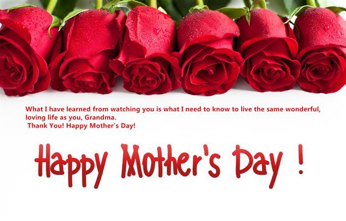 Best Happy Mother's Day Card Sayings For Grandmother