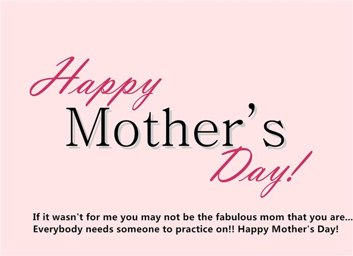 Unique Happy Mother's Day Cards Sayings For Sisters