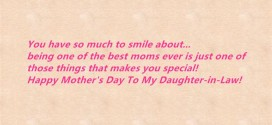 Best Happy Mother's Day Messages From Daughter In Law