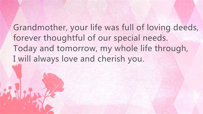 Short Happy Mother's Day Poem For Grandmas In Heaven