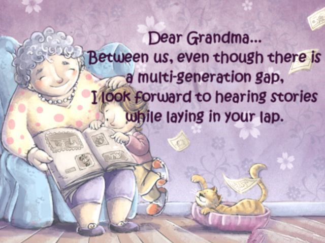Short Happy Mother's Day Poems For Grandmas From Toddlers