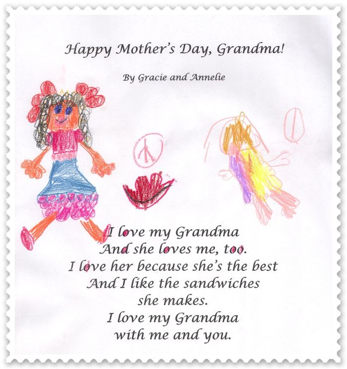 Meaningful Happy Mother's Day Poems For Grandmas From Toddlers