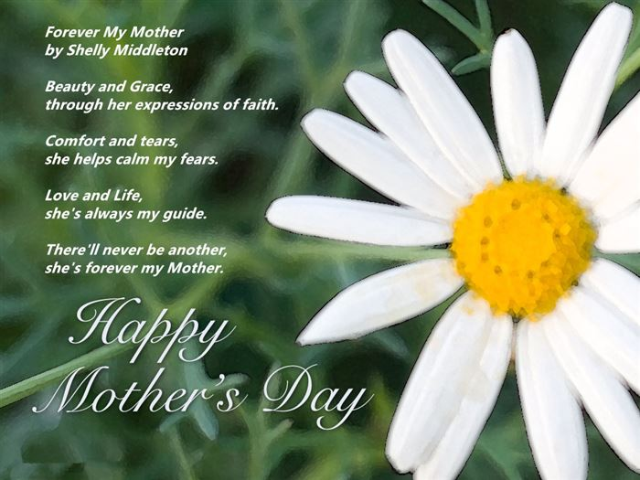 Famous Happy Mother's Day Poems From Son
