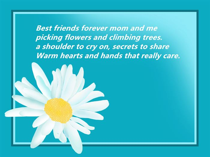 Meaning Poems For Happy Mother's Day Cards For Kids