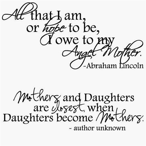 Cute Quotes For Happy Mother's Day From Daughter