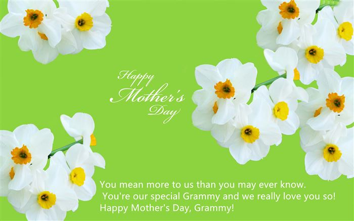 Short Happy Mother's Day Greeting Card Messages For Grandma