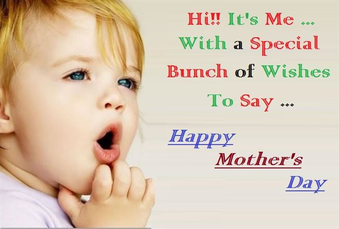 Famous Happy Mother's Day Messages For Cards From Children