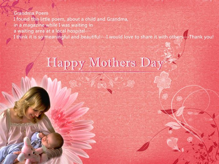 Meaningful Happy Mother's Day Poems For Grandmas From Child