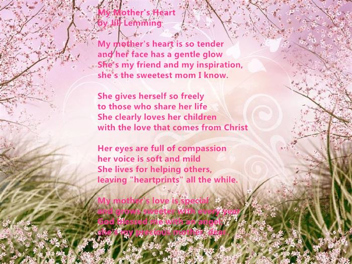 Meaningful Happy Mother's Day Poems From Daughter