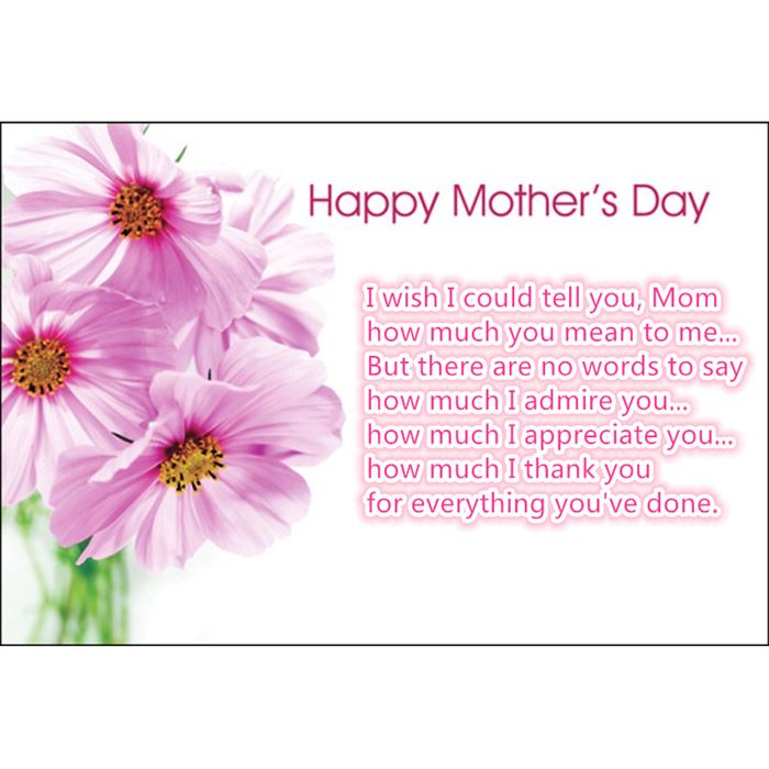 Famous Happy Mother's Day Poems From Young Children