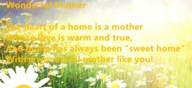 Famous Short Happy Mother's Day Poems From Son In Law