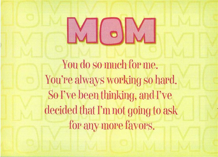 Best Printable Happy Mother's Day Poems From Children