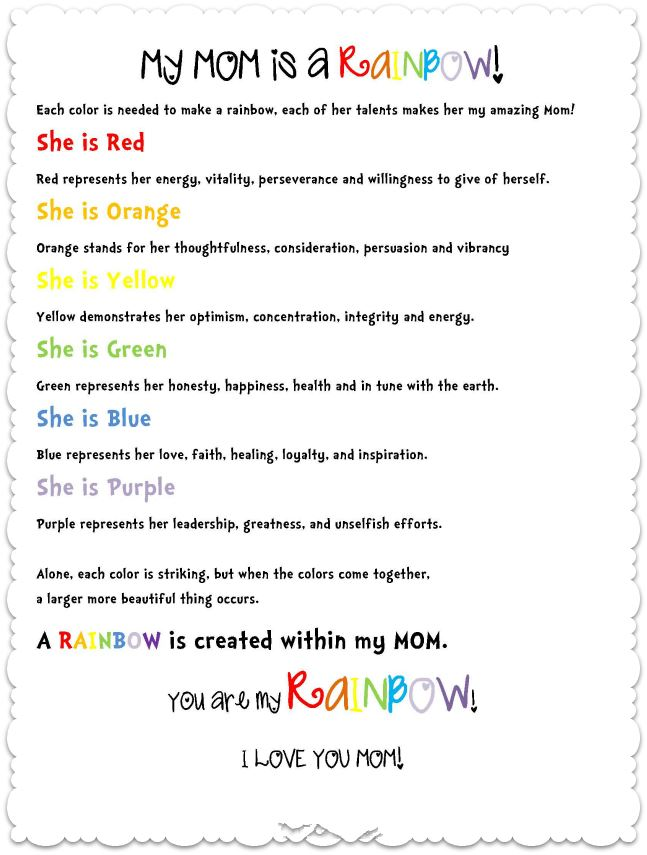 Best Printable Happy Mother's Day Poems From Daughters