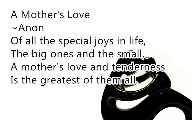 Free Short Happy Mother's Day Poems From Daughter In Law