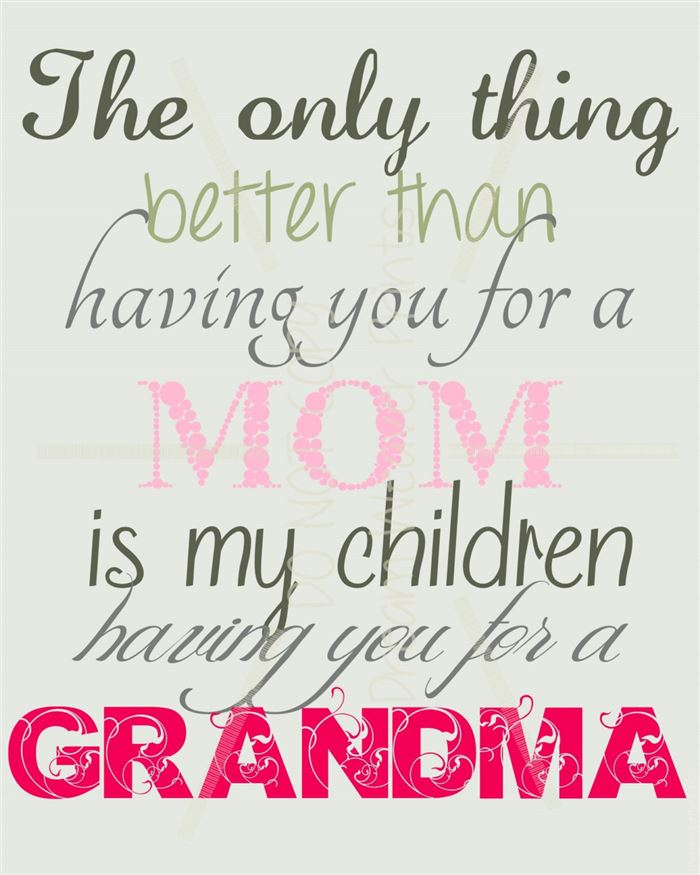 Best Funny Happy Mother's Day Card Sayings For Grandma