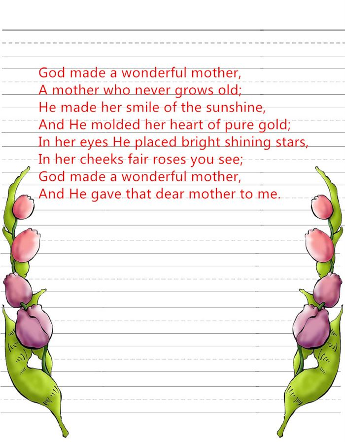 Best Funny Happy Mother's Day Poems From Kids