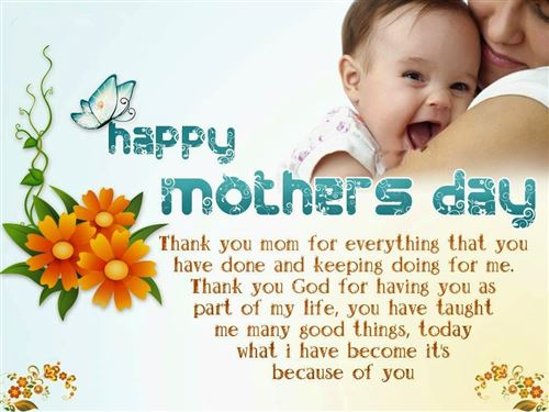 Meaningful Happy Mothers Day Quotes For Facebook Status