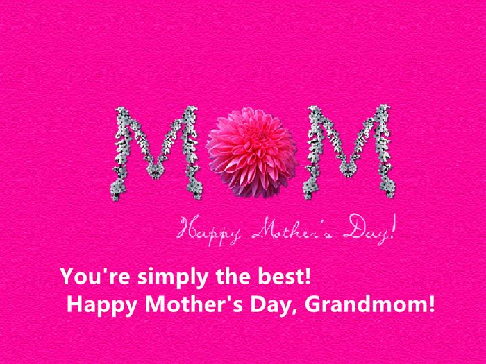 Famous Happy Mother's Day Greetings Messages For Grandma