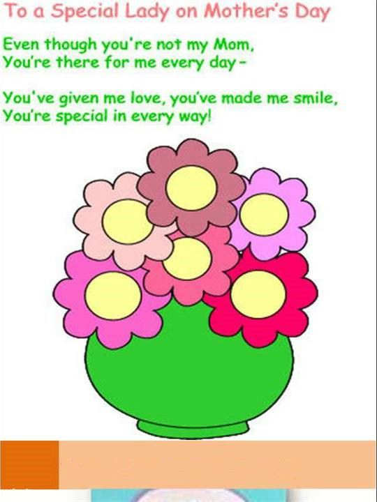 Meaningful Happy Mother's Day Poems About Flowers For Preschool