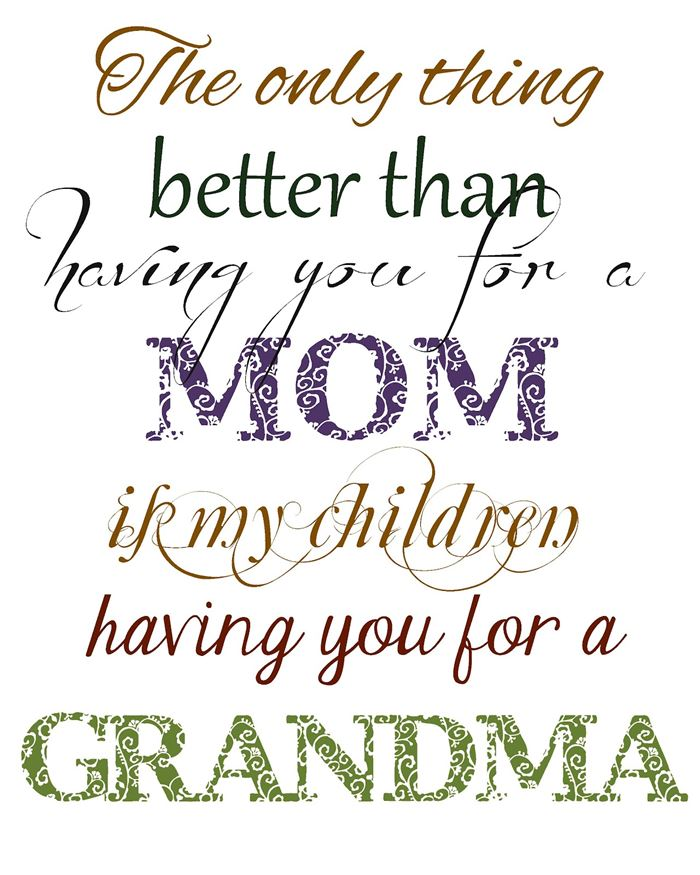 Unique Happy Mother's Day Quotes For Grandmas From Kids