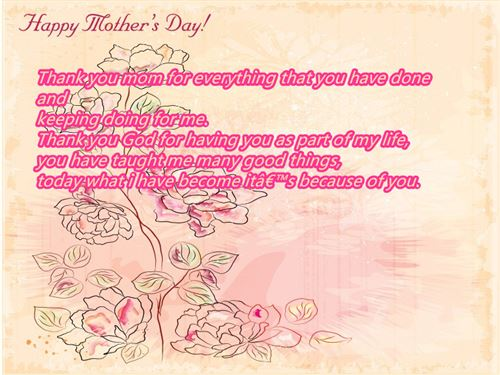 Famous Happy Mother's Day Quotes From Son And Daughter In Law