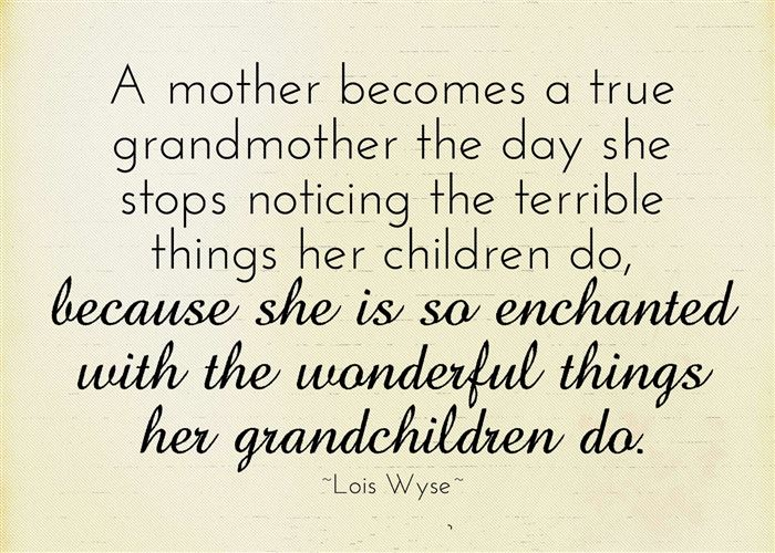 Famous Happy Mother's Day Quotes For Grandmothers