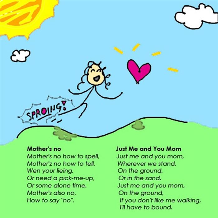 Short Happy Mother's Day Poems For Preschoolers Free