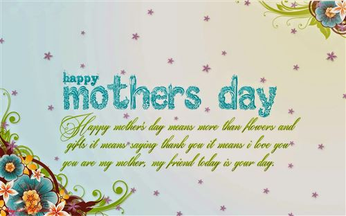 Short Meaning Quotes For Happy Mother's Day Cards