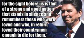 Best Famous Memorial Day Quotes By Ronald Reagan