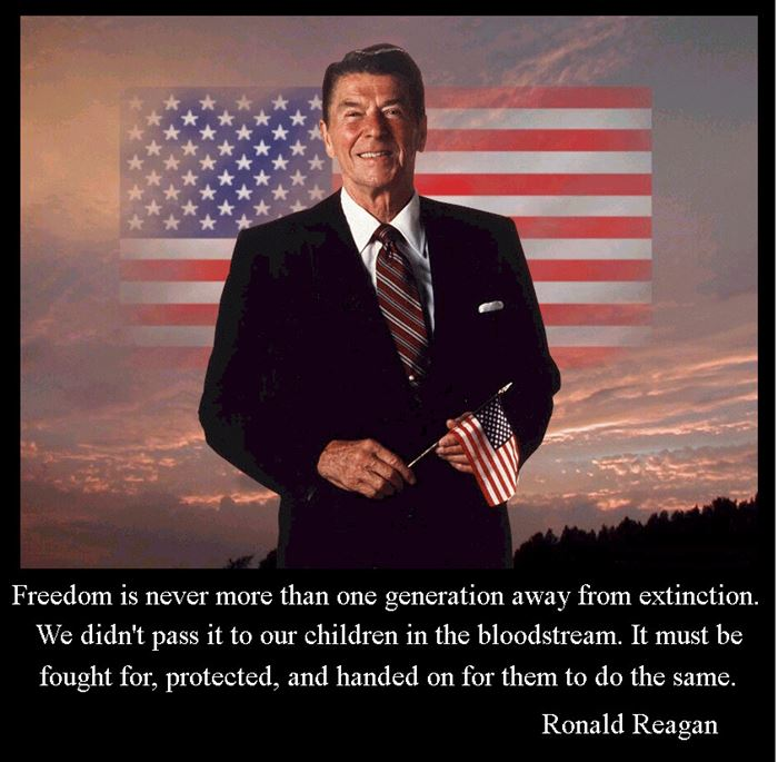 Meaningful Memorial Day Quotes By Ronald Reagan President