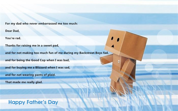 Best Funny Happy Father's Day Poems From Daughter