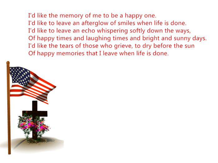 Best Handprint Memorial Day Poems For Kids