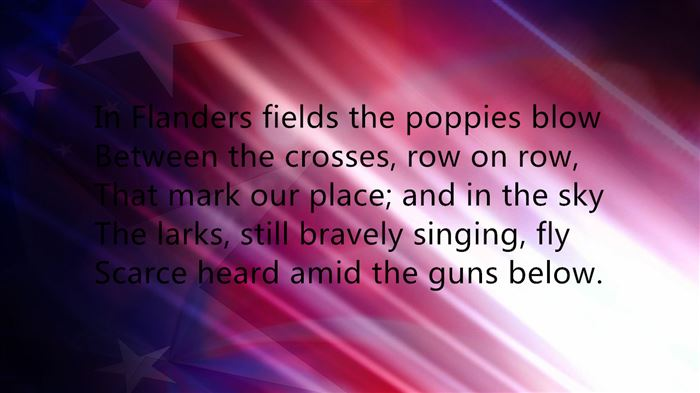 Famous Memorial Day Poems For Fallen Soldiers