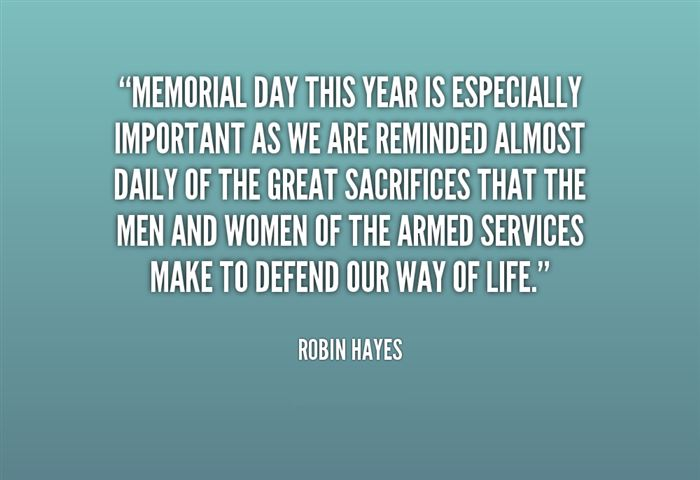 Meaningful Memorial Day Thank You Quotes For Facebook
