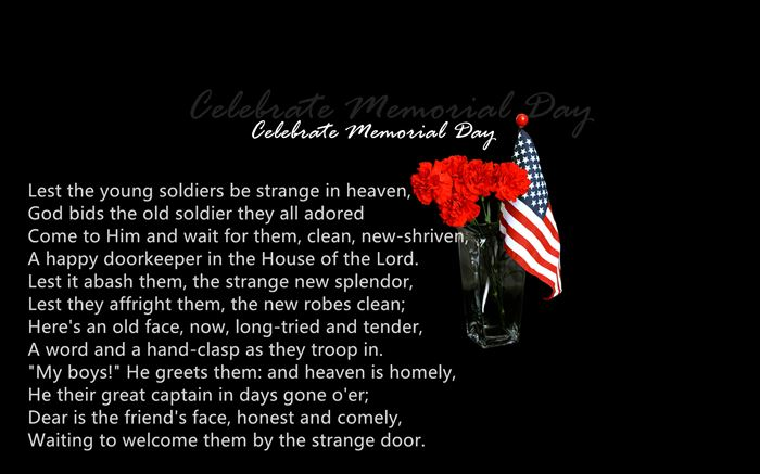 Meaningful Christian Memorial Day Poems