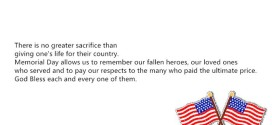 Famous Christian Memorial Day Quotes And Sayings