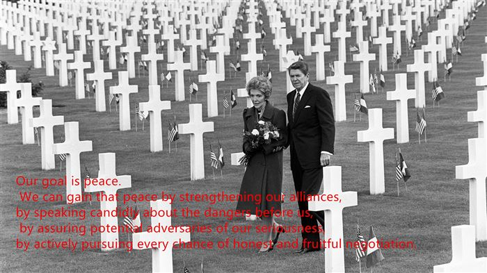 Famous President Ronald Reagan Memorial Day Quotes