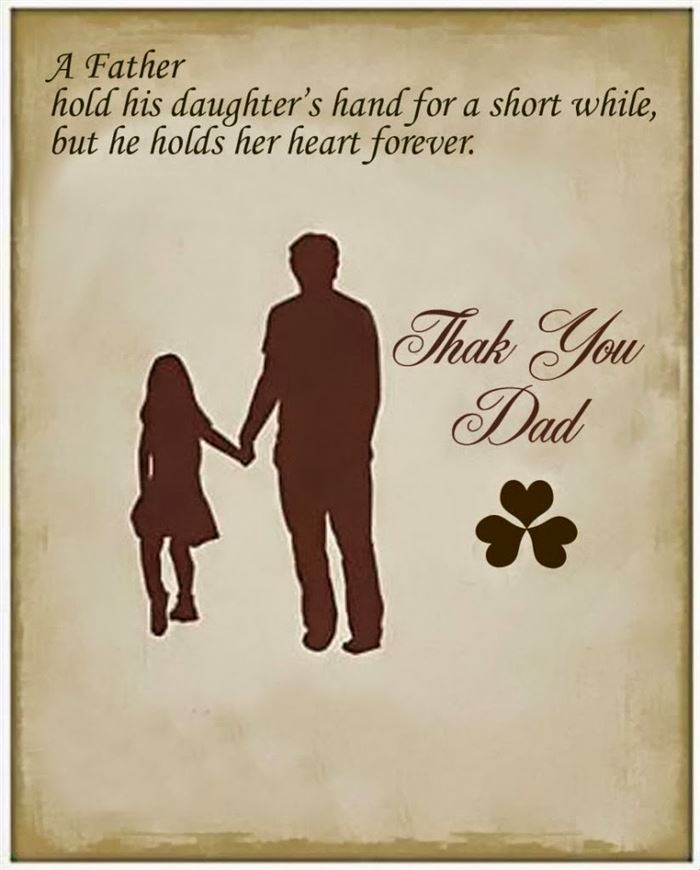 Meaningful Happy Father's Day Card Quotes From Daughter