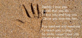 Meaningful Happy Father's Day Poems From Kids With Handprints
