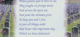 Meaningful Memorial Day Poems For Veterans