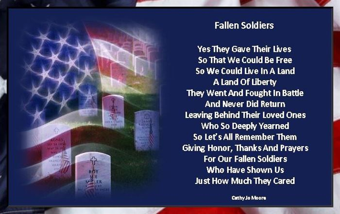 Unique Memorial Day Poems For Soldiers