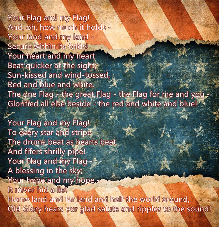 Free Armed Forces Happy Flag Day Poems For Kids
