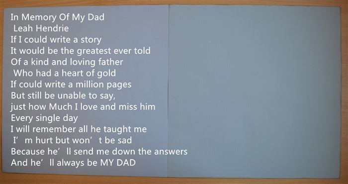 Free Dead Happy Father's Day Poems From Daughter
